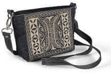 Laga handcrafted embroidered vegan Paspor Small Cross Body