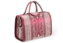 Laga handcrafted vegan free motion embroidered Kuat Travel Bag