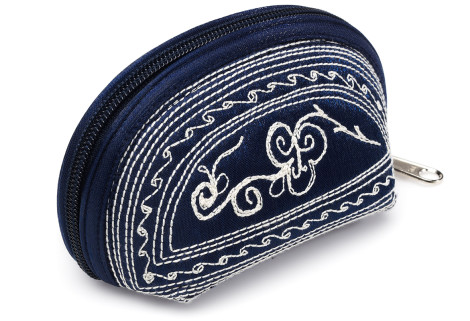 Laga handcrafted vegan embroidered Tari Mini Coin Purse