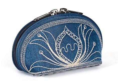 Laga handcrafted vegan embroidered Tari Mini Coin Purse