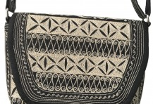 Laga handcrafted embroidered vegan Mudah Cross Body
