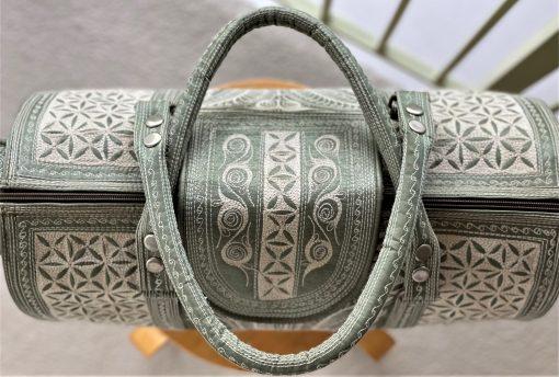top of travel bag